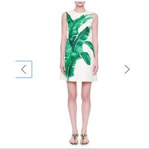 Authentic NWOT Dolce & Gabbana Banana leaf dress.